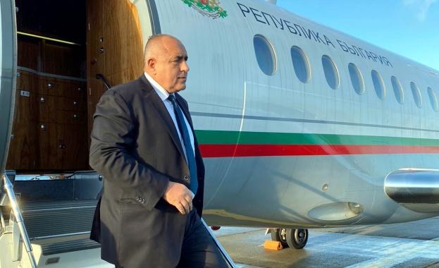 Министър-председателят Бойко Борисов пристигна в Брюксел. Премиерът Борисов ще проведе