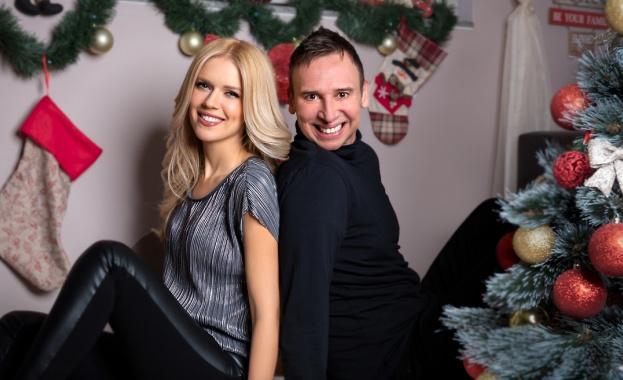 За коледните и новогодишни празници, Нели Петкова и Виктор Калев