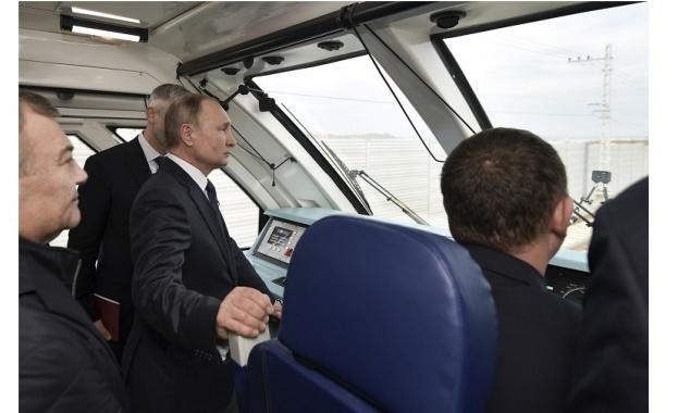 Европейският съюз осъди откриването днес на Кримския железопътен мост като