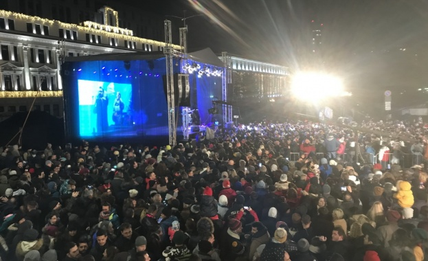 """На 31 декември 2019 г. на площад """"Княз Александър I"""