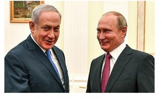 Израелският премиер Бенямин Нетаняху и руският президент Владимир Путин обсъдиха