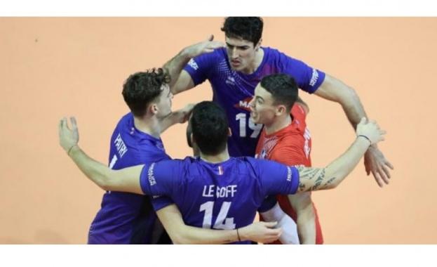 Мъжкият национален отбор по волейбол на Франция е последният европейски