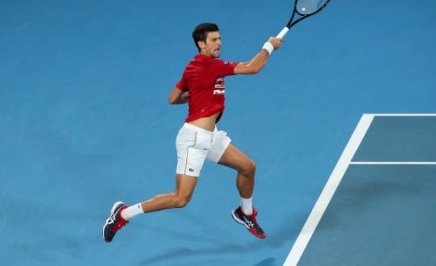 Новак Джокович победи Рафаел Надал с 7-2, 7-6(4) след почти