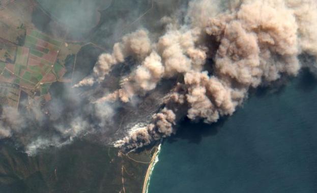 Димът от австралийските пожари скоро ще направи пълна обиколка на