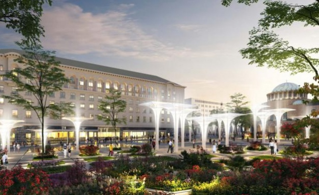 Проектът за обновяване на пространството около храм