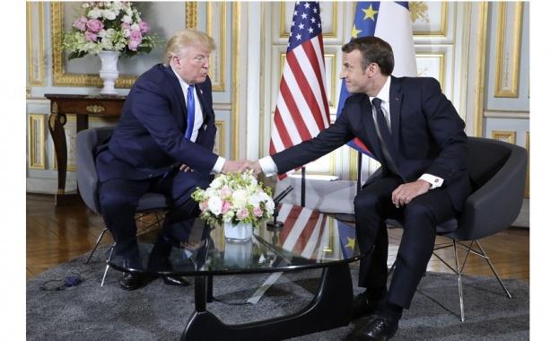 Френският президент Еманюел Макрон заяви, че е имал