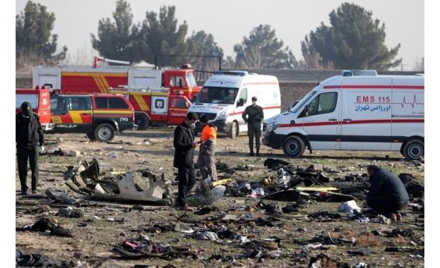 Вторият предварителен доклад на Гражданската авиация на Иран разкрива, че