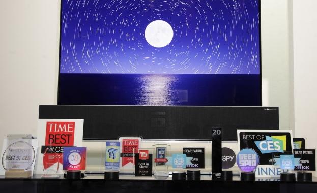 LG Electronics (LG) спечели рекорден брой награди от експерти в