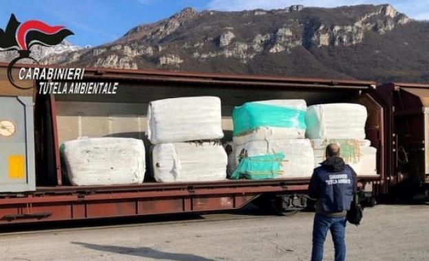 Незаконен боклук от Италия е открит и в Монтана, предаде