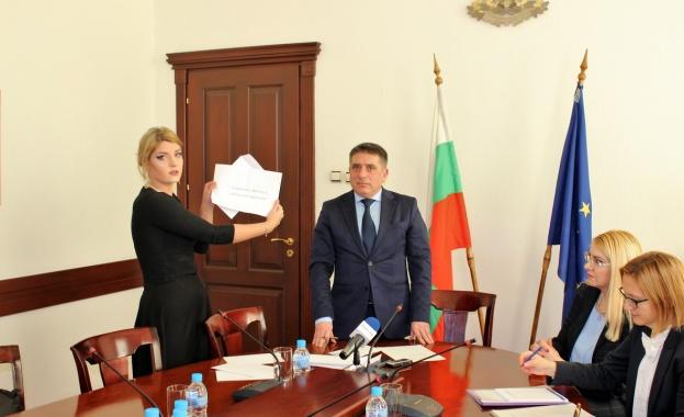 Днес в присъствието на министъра на правосъдието Данаил Кирилов, заместник-министър