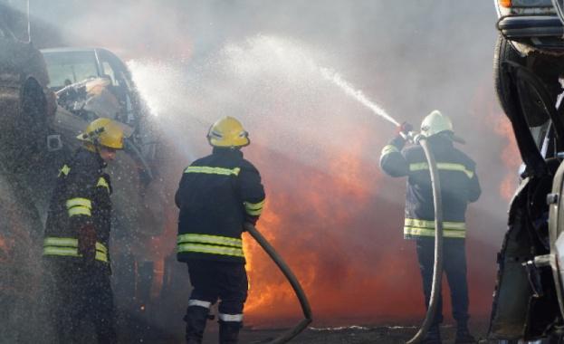 Районната прокуратура вХасково образува досъдебно производство за пожара в пункта