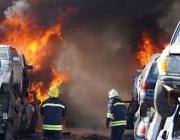 Автоморгата в Хасково, която вчера горя, вероятно е работила незаконно