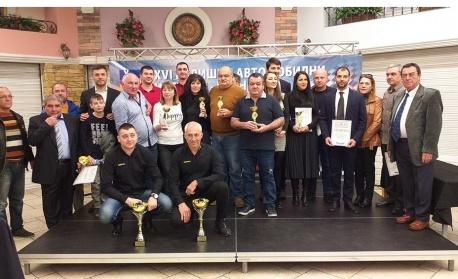 Екипаж с балкански рали трофей – за втори път №1 сред автомобилистите на Варна