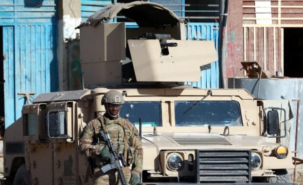Посолството на Съединените щати в Багдад е било ударено от