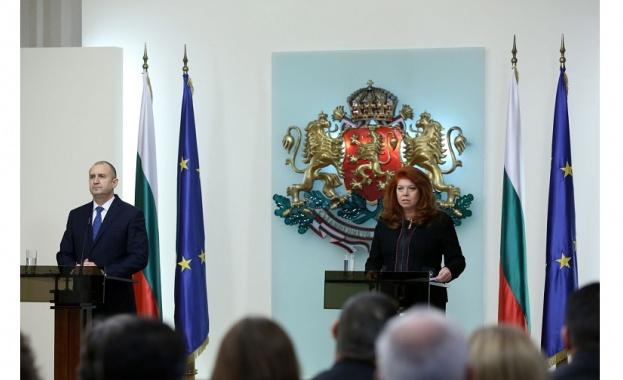 Президентът Румен Радев коментира за първи път изпратените от главния
