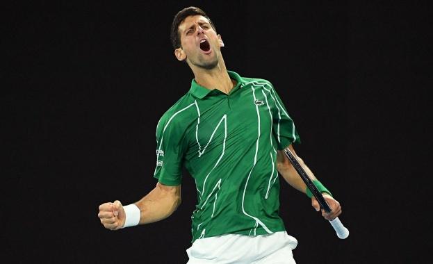 Седемкратният шампион от Откритото първенство на Австралия по тенис Новак