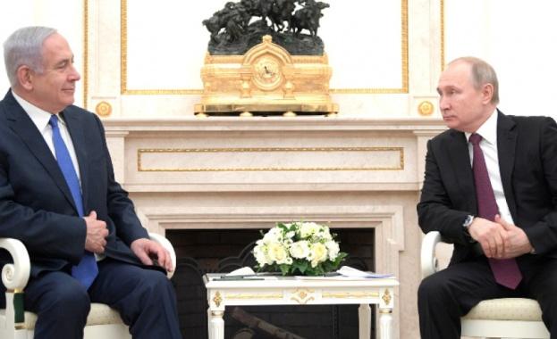 На среща в Москва израелският премиер Бенямин Нетаняху ще запознае