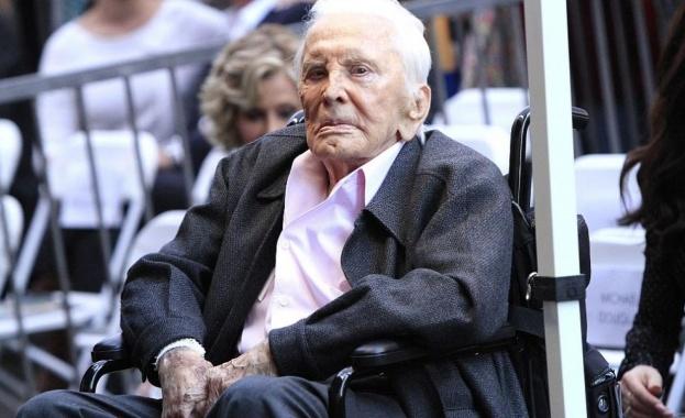Актьорът Кърк Дъглас почина на 103-годишна възраст, съобщи синът му