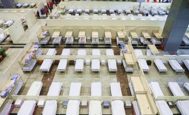 Втората болница, построена в борбата срещу коронавируса в китайския град
