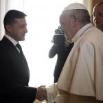 Зеленски бе на аудиенция при папа Франциск