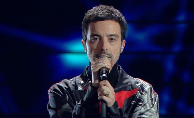 Певецът и композитор Антонио Диодато спечели голямата награда във финала