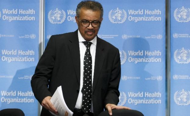 Генералният директор на Световната здравна организация (СЗО) д-р Тедрос Адханом
