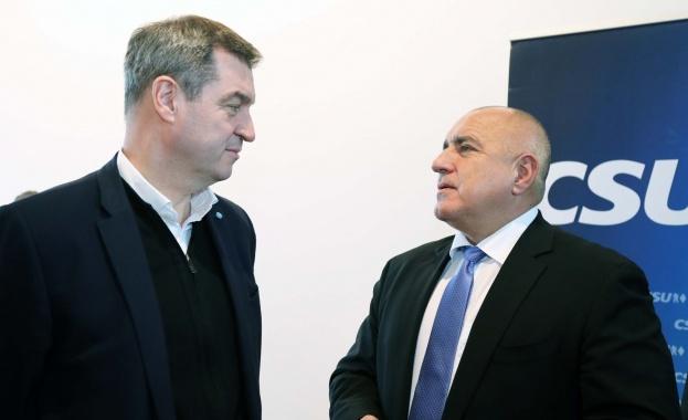 Маркус Зьодер: Всички в Европа се сменят, но само премиерът Борисов остава на своя пост