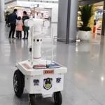 Мобилен робот открива болни в тълпата