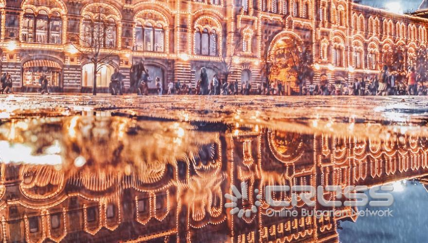 Москва през зимата - вълшебна приказка