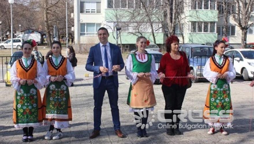 Най-дългата мартеница в Пловдив