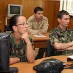 Началникът на отбраната на инспекция в контингента ни в Босна и Херцеговина