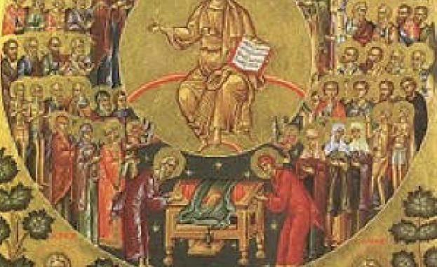 Св. мчк Полиевкт. Св. Петър, еп. Севастийски. Преп. Евстратий. Св. прор. Самей