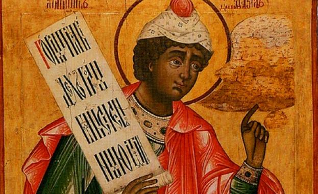 Днес Българската православна църква почита Св. преподобни Даниил Стълпник. Преп.