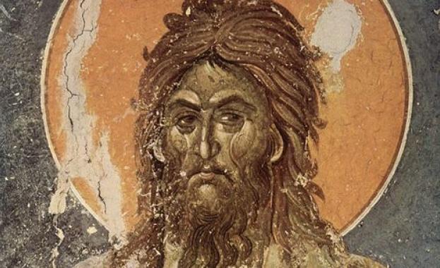 Зачатие на св. Йоан Предтеча и Кръстител. Св. мчца Ираида