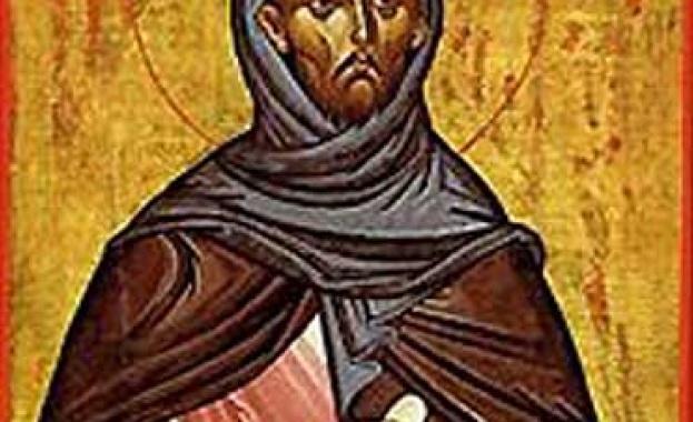Св. Теодор Стратилат. Стенопис от 1290 г. от Мануил Панселинос
