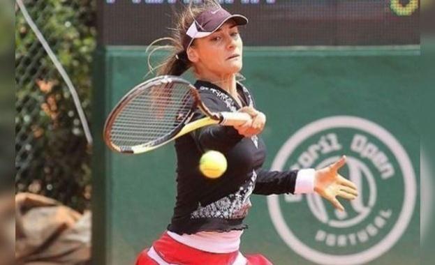 Доживотна забрана да се състезава получи българска тенисистка