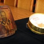 Св. Климент, архиеп. Охридски. Св. Климент, папа Римски. Св. Петър, еп. Александрийски