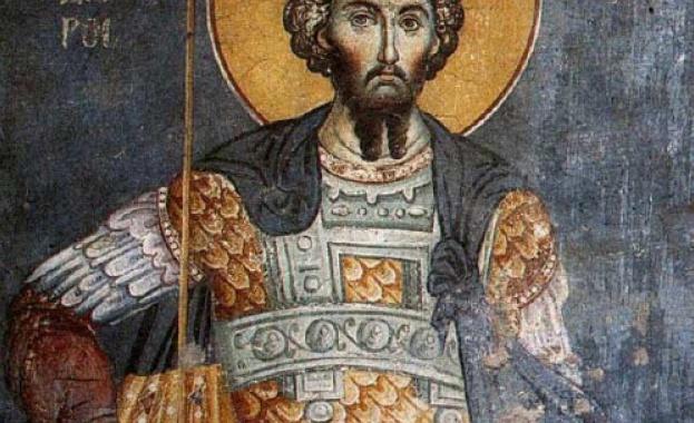 Житие на св. Теодор Тирон Св. Теодор Тирон. Икона от