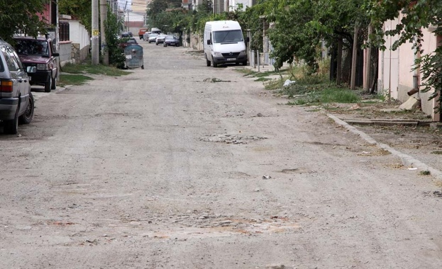 Жители на Перник на бунт заради разбити улици. През ул.