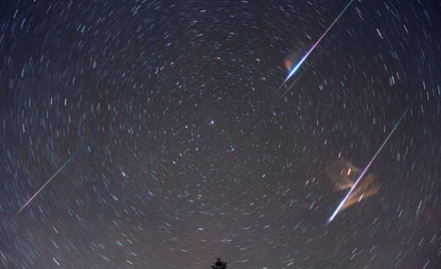 Няколко звездопада ни очакват през април