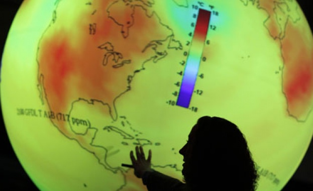 Шансът глобалните температури да достигнат временно 1,5 градуса над доиндустриалните