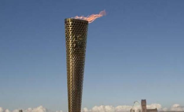 Огънят за зимните олимпийски игри през 2022 година в Пекин