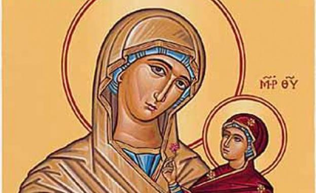 Зачатие на св. Анна, когато тя зачена Пресвета Богородица