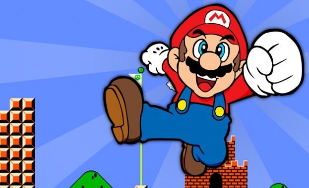 Неотворено копие на видеоаграта Супер Марио Брос (Super Mario Bros)