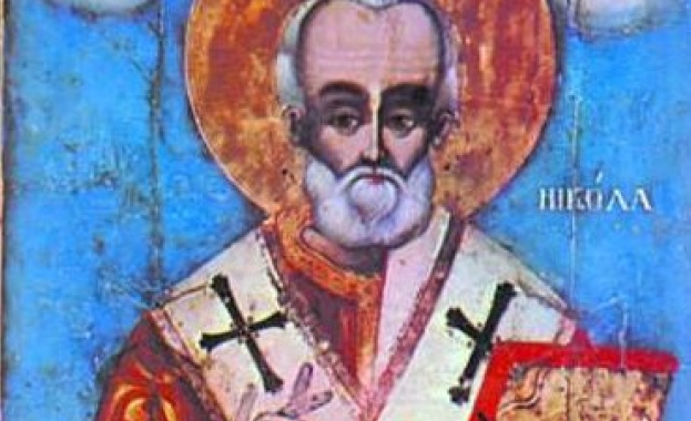 Св. прор. Исаия. Св. мчк Христофор. Пренасяне мощите на св. Николай Мирликийски чудотворец