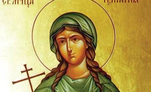 Св. Юлиания била дъщеря на знатни и богати родители езичници,