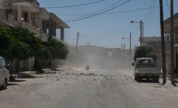 В района на сирийския град Ариха терористи са взривили самоделна
