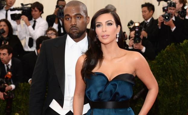 Ким Кардашян подаде молба за развод с Кание Уест