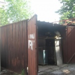 "Багери събарят незаконни гаражи в  ""Красна поляна"""