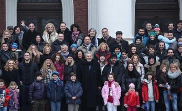 Стефан Данаилов събра всичките си студенти заедно с децата им